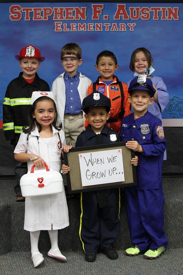 Kindergarten Occupation Day - October 18, 2013
