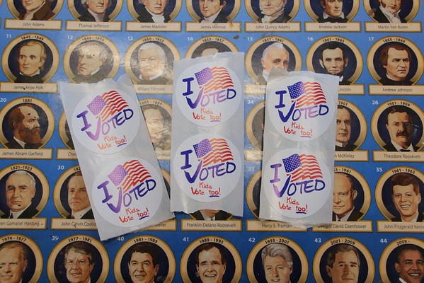 Election day, November 8, 2016