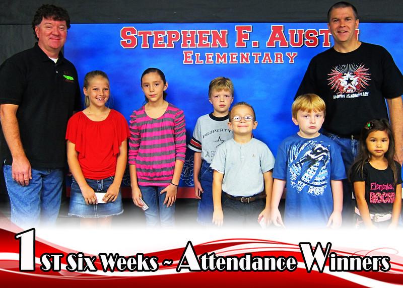 Attendance Winners 2011-2012