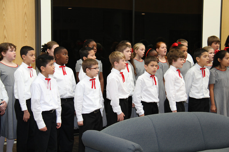 Choir at Admin 12/18/13