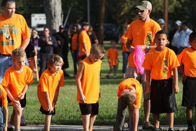 Fun Run and Fall Festival, Grades 2 and 3