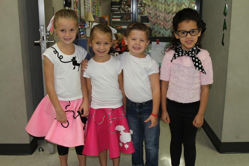 Kindergarten 50th Day Sock Hop