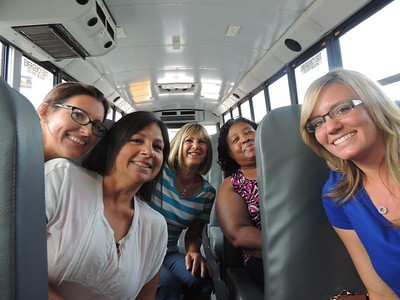 Faculty campus tour, August 1, 2014