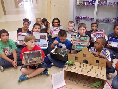 Mrs. Leday's class celebrates Freedom Week, September 17, 2014