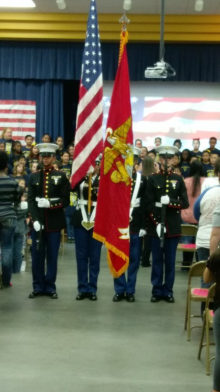 Veteran's Day Assembly, November 11, 2016
