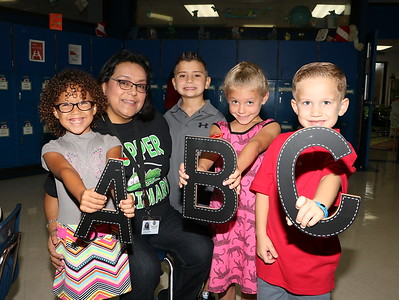 B.P. Hoppers' Grasshoppers First Day of School