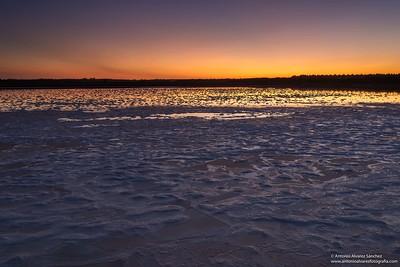 El atardecer / The sunset