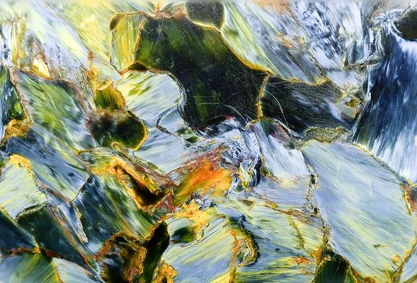 Mineral Macro No.  Stein|Ausschnitt
