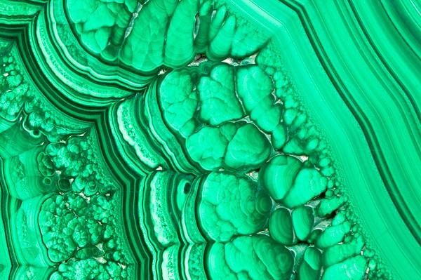 Mineral Macro No.  Malachite - Congo