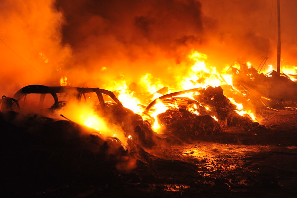 Dupak Surabaya Flea Market destroyed by Fire