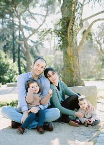 Elena, Alvaro y familia