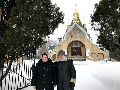 Св. Троицкий мужской монастырь, г. Джорданвилль, штат Нью-Йорк, США. Наместник архимандрит Лука (Мурьянка).