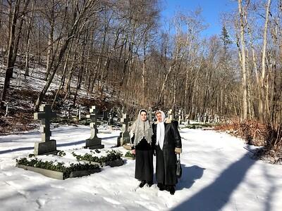 Кладбище Ново-Коренной Пустыни.