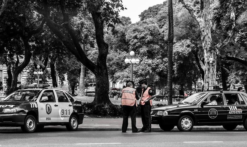CONTROL - Av. Paseo Colón, Buenos Aires, 2008