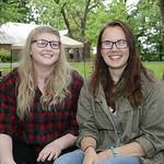 Allie Moburt and Jozie Uebelhoer,