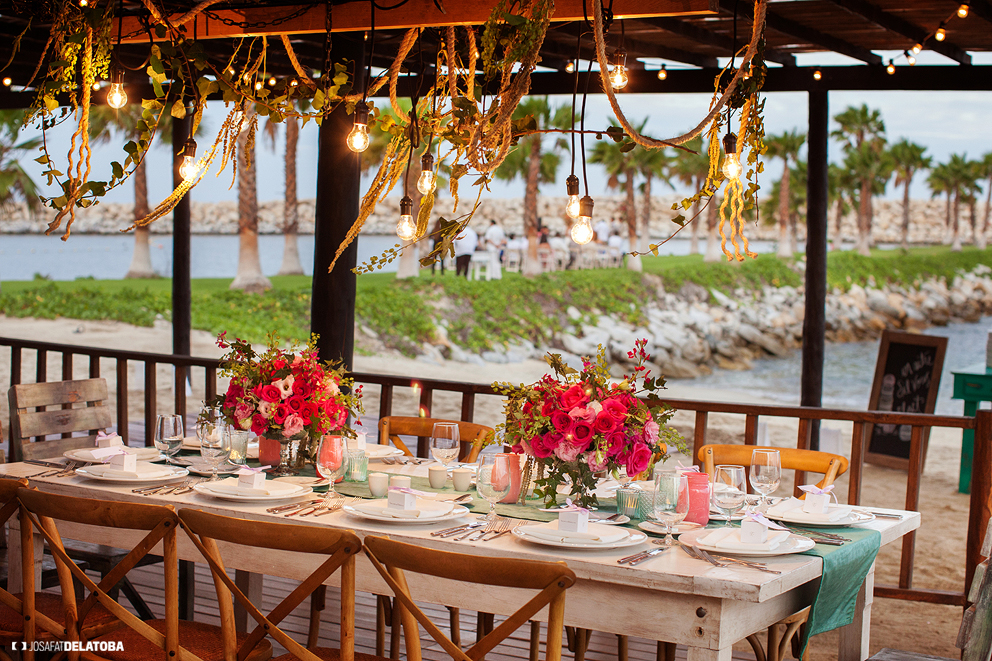 Beach Club Wedding