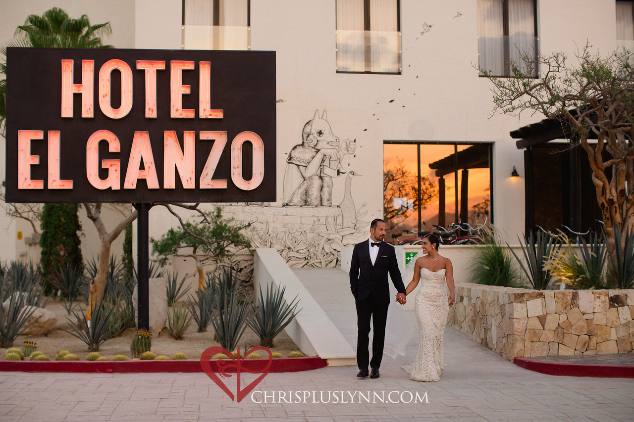 Entrance Hotel El Ganzo