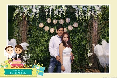 Eli & Peter Wedding Photobooth