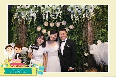 Eli & Peter Wedding Photobooth