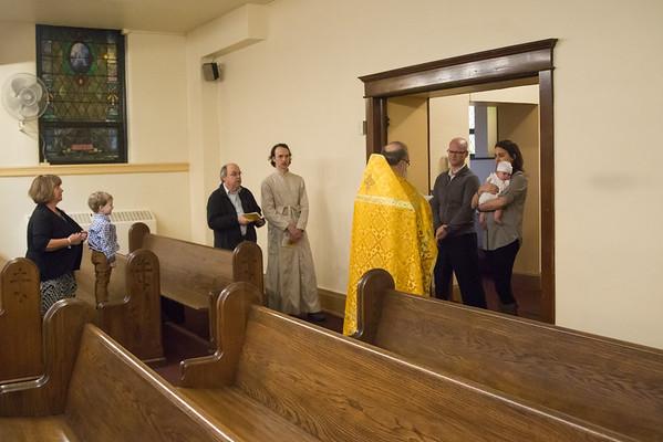 Elise Smith Baptism 2016
