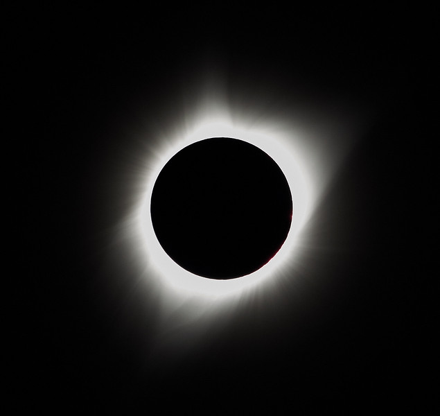 Total Solar Eclipse with Corona & Prominence