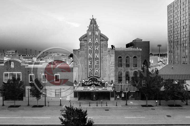 Warner Theatre B&W