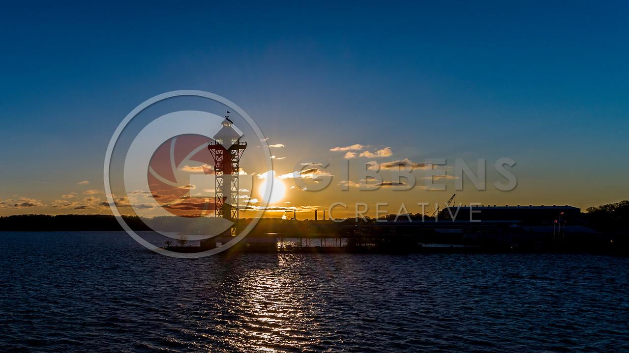 Dobbins landing Sunrise
