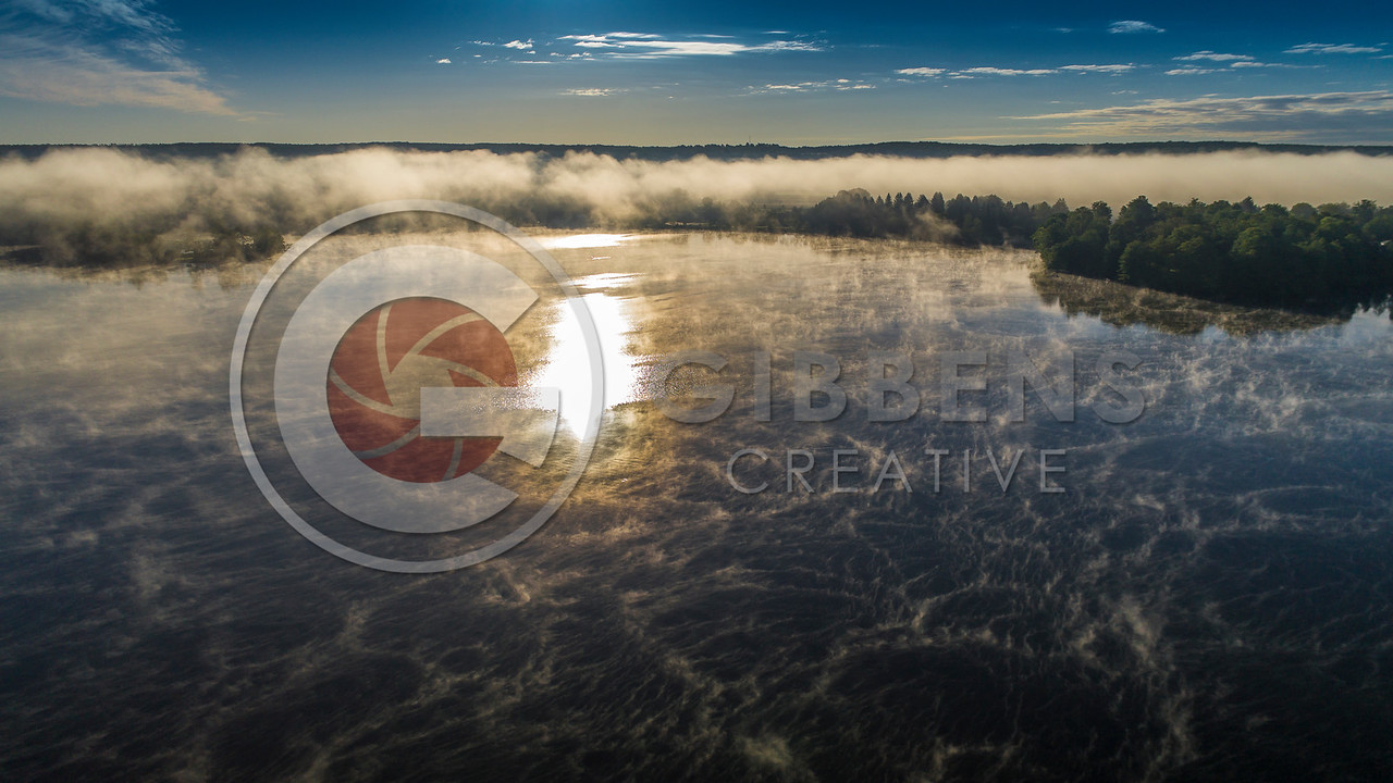 Edinboro Lake Fog