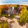 Presque Isle Lighthouse Fall