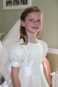 Elizabeth's First Holy Communion May 3, 2014 014