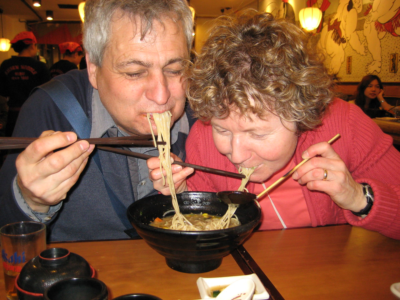 Sharing Noodle Soup in Shanghai