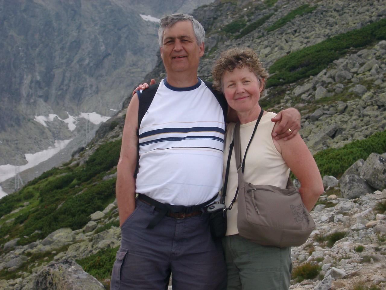Mountain Walk in Velka Lomnica, Slovakia