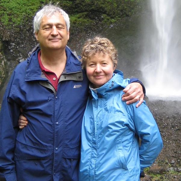 Visiting La Tourelle Falls in Oregon