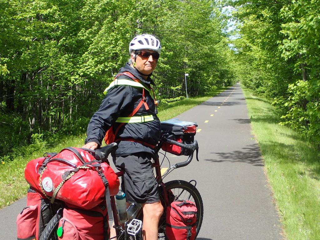 Trail Ride in Saint-Agapit QC