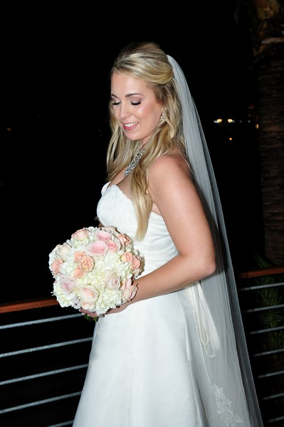 Beautiful wedding at Island Way Grill, Clearwater FL