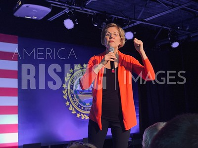 Elizabeth Warren at Get Out The Vote Event in Derry, NH