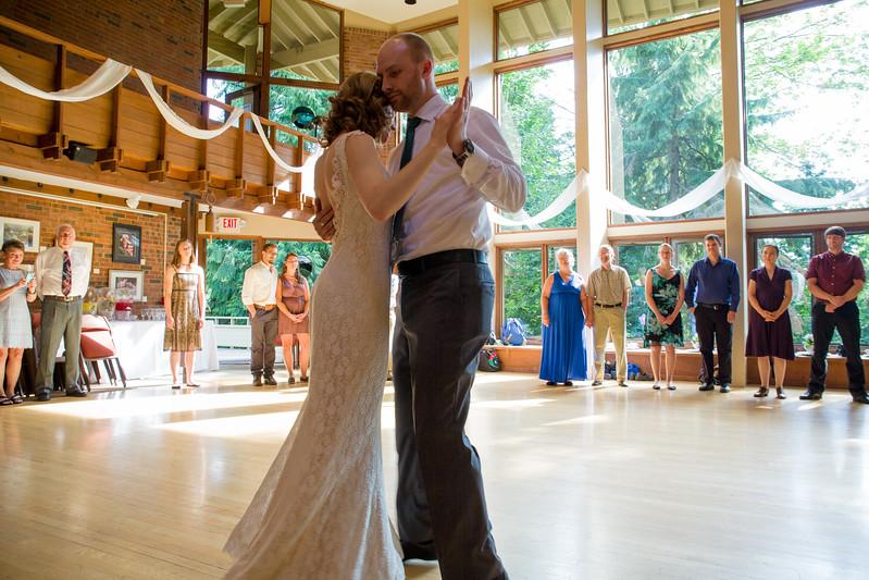 Elizabeth and Daniel's wedding