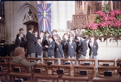 Boys Choir, Christmas--1987