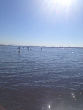 Paddleboarding March 2017