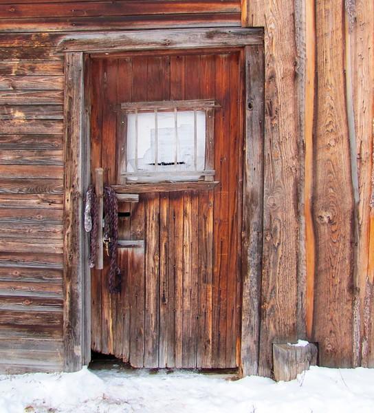 Barn door in Golden