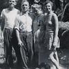 Donald, Sebastian, Elizabeth, and Tessie, about 1945