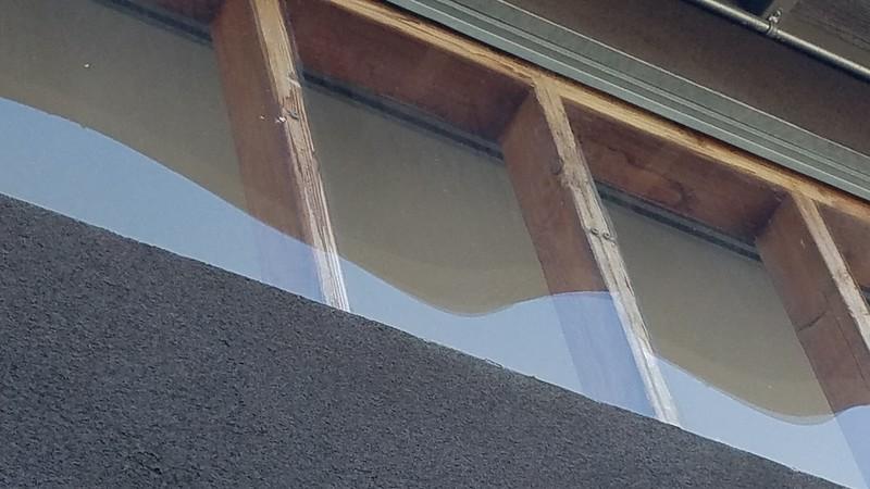 Clerstory windows arw just lexan panels