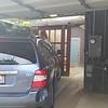 Garage parking area