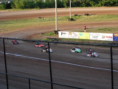 Tonight there were four non-countable classes racing.  This was one of them.