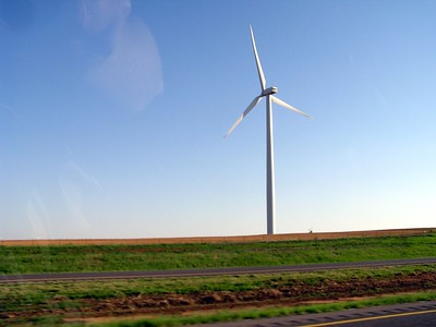 No, this is not Denmark.  They have wind, and lots of it, in Oklahoma.