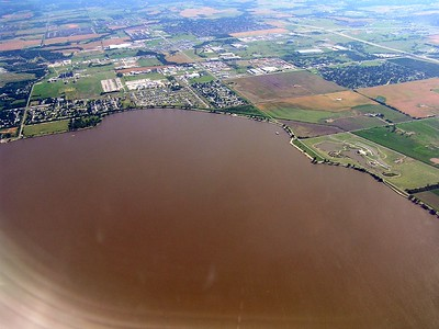 I never would have expected to see a lake this big in Oklahoma.