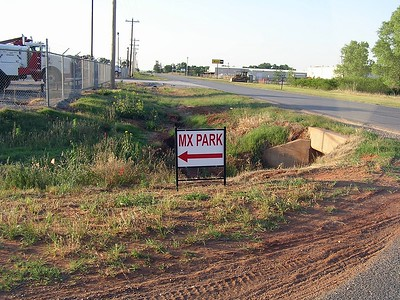 The MX park is next door to the Elk City Speedway.