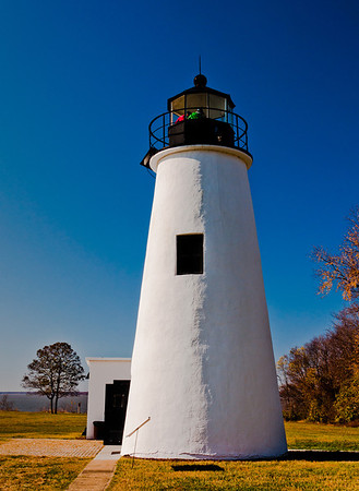 Lighthouse at Elk Neck State Park, Maryland
