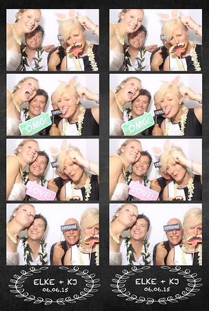 Elke & KJ Wedding (Photo Booth)