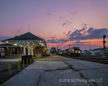 Elkhart Depot Dawn